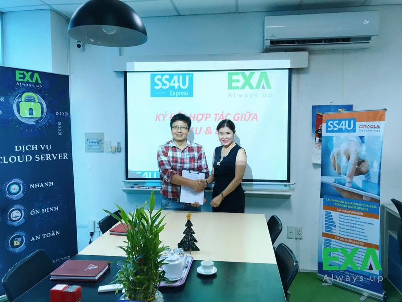 Ký Kết Hợp Tác EXA và SS4U Express
